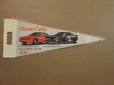 Daytona 500 Vintage 1995 Monte Carlo Logo Pennant