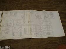1980 Ford F600 F700 F800 truck wiring diagram schematic SHEET service manual