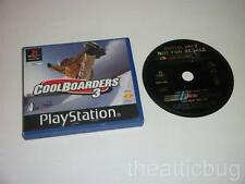 Sony Playstation 1 / PS1 ~ CoolBoarders 3 ~ Rental Version