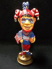 2002 Suber Bowl XXXVI Part 2 of 2 limited Edition Jester USA Bobble Head