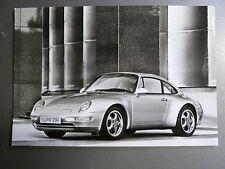 "1997 Porsche 911 Carrera Coupe B&W Press Factory Issued ""Werkfoto"" Photo RARE!!"