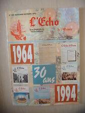 Algérie, Oran: Revue L'Echo de l'Oranie, N° 235: 11-12/1994, BE
