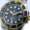 ROLEX SUBMARINER 116613 BLACK DIAL TWO TONE CERAMIC BEZEL 116613