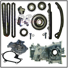 For Nissan Altima KA24DE 2.4L Timing Chain Kit, Water and Oil Pump 1998 - 2001