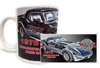 1978 INDIANAPOLIS INDY 500 PACE RACE CAR CORVETTE 11 OZ. COFFEE MUG