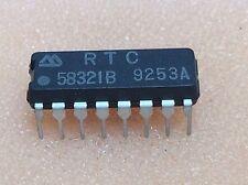 1 pc. RTC58321B  Real time clock module DIP16  NOS
