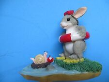 """Charming Tails """"Come On In-The Water's Fine"""" Beach Scene Mint"""