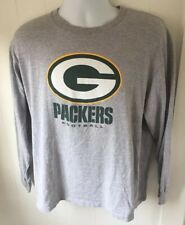 NFL GREEN BAY PACKERS FOOTBALL GRAPHIC LONG SLEEVE T-SHIRT size LARGE