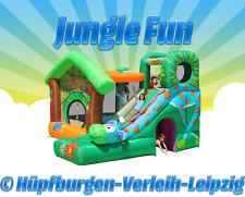 """Hüpfburg """"JUNGLE FUN"""" deutschlandweit zu mieten (Wochenendpreis, 2 Tage)"""