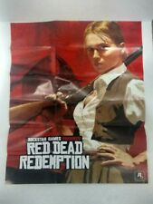 Like new.Red Dead Redemption Xbox 360 Game Poster And Map