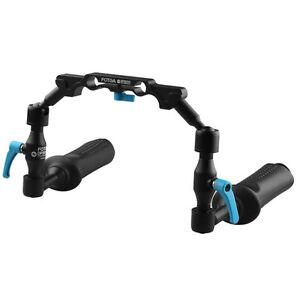 FOTGA DP3000 Adjustable Magic Arm Handle Hand Grip Clamp for 15mm Rod DSLR Rig