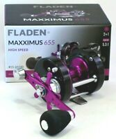 Fladen Maxximus 6500 High Speed Surf Sea Casting Multiplier Fishing Reel 655