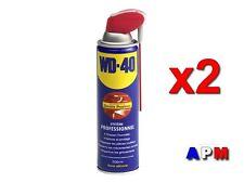 2  WD40  LUBRIFIANT DÉGRIPPANT  SYSTEME PRO ( Double Positions)  500 ML