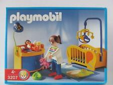 Playmobil Dollshouse figure & furniture set 3207 Baby nursery/bedroom NEW