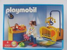Playmobil Dollshouse figure & furniture set 3207 Baby nursery/bedroom NEW