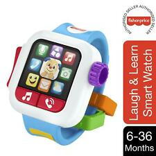 Fisher-Price Smart Watch Laugh & Learn Time to Learn Toy For Kids