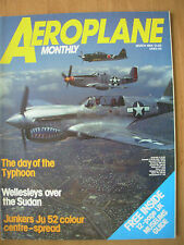 AEROPLANE MONTHLY MAGAZINE MARCH 1984
