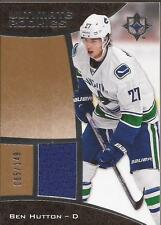 BEN HUTTON 2015-16 UD Ultimate Rookie Jersey #/149 Vancouver Canucks