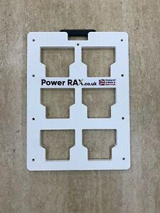 Power Rax 1/2 Wall mounting Plate for Milwaukee Packout Tool Boxes storage rack