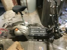 used silver air wolf 49cc gas scooter