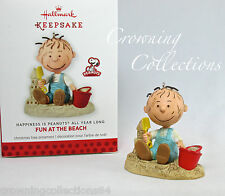 2013 Hallmark Fun At The Beach Pigpen Happiness is The Peanuts Yearly Ornament