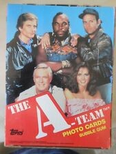 A-Team A Team Topps Wax Box 36 Packs Full Boxe 1983 ! Mr T Awesome ! Look