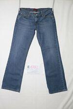 Levi's 557 EVE BOOTCUT usato (Cod.E1782) W31 L32 denim jeans donna vita bassa