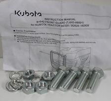 Kubota B1642 Front Guard Mounting Hardware For B2320/B2620/B2920