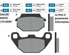 174.0049 PASTILLA DE FRENO ORIGINAL POLINI KYMCO PEOPLE 125 GTi 4V (BF25)