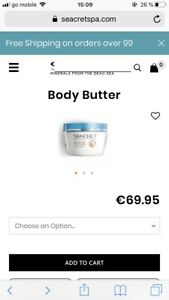seacret Body Butter NEU