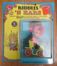 Vintage 1968 Liddle Kiddles 'N Kars Henrietta Horseless Carriage # 3641 MOC NRFP