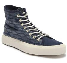 New in Box - $128 FRYE Ludlow Canvas Navy Print High-Top Sneaker Size 10.5