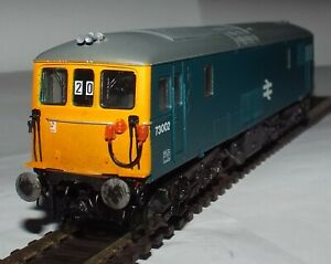 LIMA 205170 CLASS 73 ELECTRO-DIESEL LOCOMOTIVE 73002 BR BLUE FOR REPAIR
