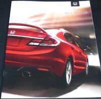2013 Honda Civic 18-page Original Sales Brochure Catalog