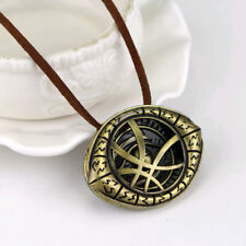 Dr. Doctor Strange Pendant Eyes of Agamotto Chain Necklaces Cosplay Marvel Movie