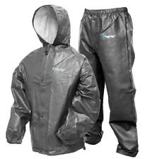 "Frogg Toggs Pro-Lite Rain Suit ""Carbon"" Medium/Large"