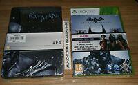 New Sealed Batman Arkham Origins Steelbook Game Pack for PAL Microsoft XBox 360