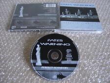 FATES WARNING: Perfect Symmetry *First Press CD !* Dream Theater Psychotic Waltz