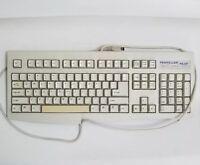 Vintage Keyboard KeyTronic Pro Pilot K280W Standard Beige Clickey Wired  1998