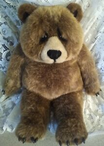 "Dakin Limited Edition Lou Rankin Friends Jasper Sr 18"" Soft Cushy Plush Bear EUC"