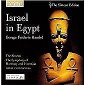 HANDEL ~ Israel in Egypt, CD Album