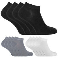 SOCK SNOB - 4 Pack Mens Womens Thin Bamboo Low Cut Quarter Ankle Socks