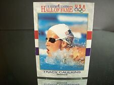 Rare Tracy Caulkins U.S. Olympic Impel  1991 Card #45 HALL OF FAME Swimming