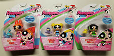 "Powerpuff Girls Bubbles Blossom Buttercup 3"" Figure Pack Lot Set (3) New Sealed"
