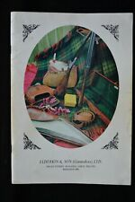 ELDERKIN & SON (Gunmakers) CATALOGUE GUNS RIFLES ACCESSORIES CLOTHING WEBLEY AYA