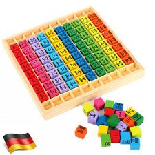 Montessori Spielzeug Einmaleins Mathematik Lernspiel Kinder Lehrmittel für Holz