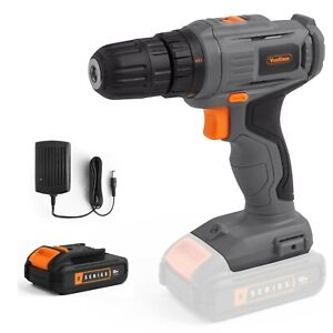 VonHaus Cordless Drill Driver E-Series – Battery and Charger Included
