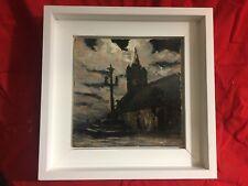Tres jolie peinture H/P GABRIEL DESCHAMPS 1919