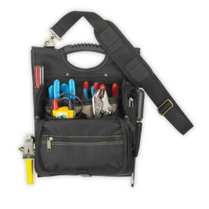 CLC Custom Leathercraft 1509 21-Pocket Zippered Professional Electricians Pouch