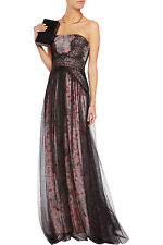 $ 1,295..marchesa notte Floral-print lace and tulle gown..outstanding